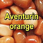 AVENTURIN ORANGE Pietre rulate