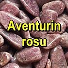 AVENTURIN ROSU Pietre rulate