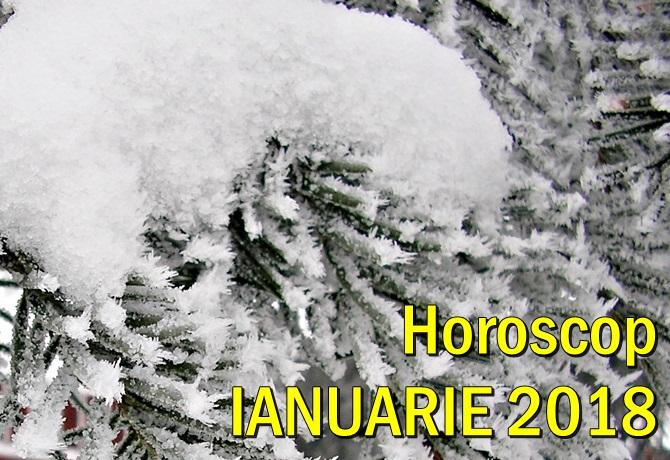 Horoscopul lunii ianuarie 2018