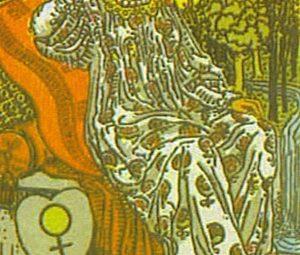 ARCANA MAJORA III Imparateasa TAROT