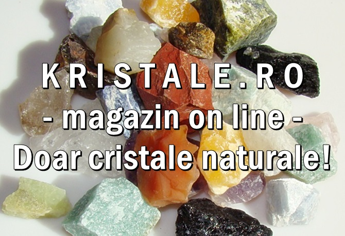 Magazin de cristale si pietre