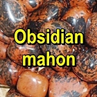 OBSIDIAN MAHON Pietre rulate