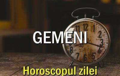 Horoscop zilnic Gemeni