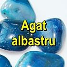 AGAT ALBASTRU Pietre rulate