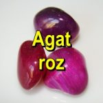 AGAT ROZ Pietre rulate