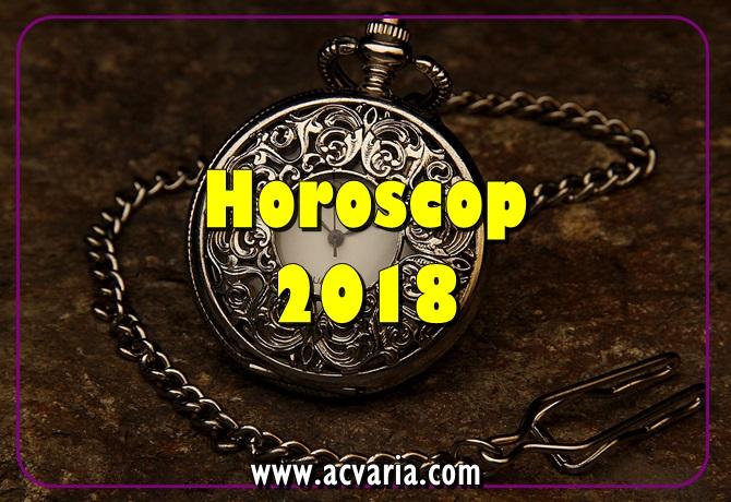 HOROSCOP ACVARIA 2018