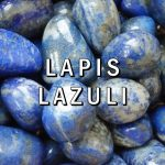 LAPIS LAZULI Pietre rulate