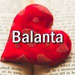 Cum iuebste BALANTA?