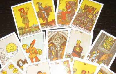 CARTILE DE MONEDE TAROT