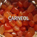 CARNEOL Pietre rulate