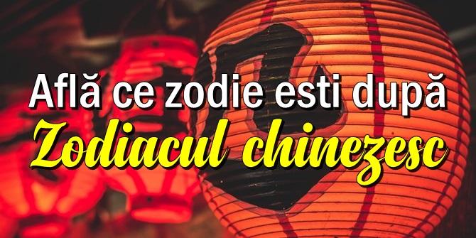 Ce zodie esti dupa zodiacul chinezesc?