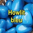 HOWLIT BLEU Pietre rulate