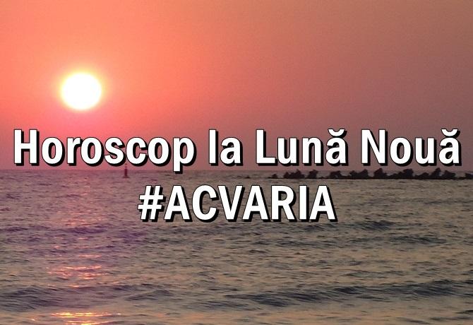 Horoscop la Luna Noua ACVARIA