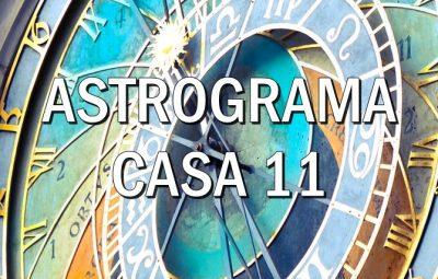 Casa astrologica XI