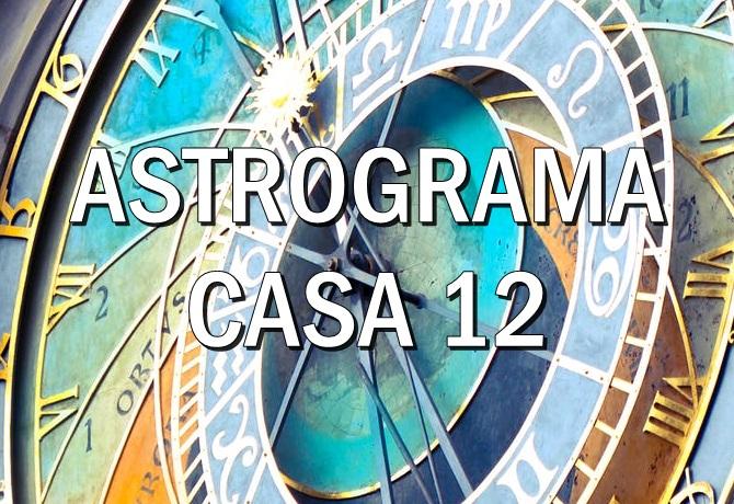 Casa astrologica XII