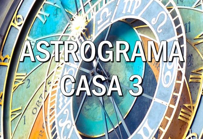 Casa astrologica 3