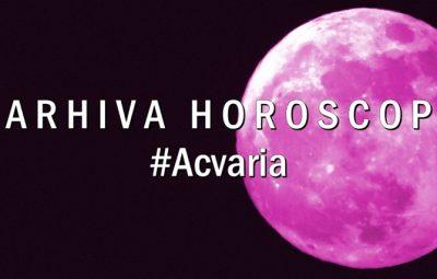 Arhiva horoscop lunar Acvaria