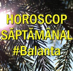 Horoscop saptamanal Balanta