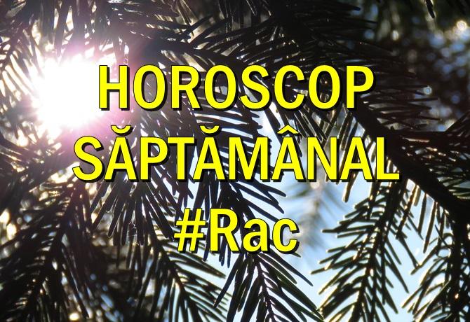 Horoscop saptamanal Rac