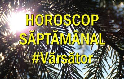 Horoscop saptamanal Varsator
