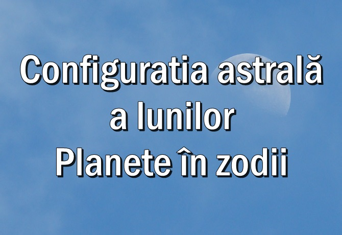 Planete in zodii