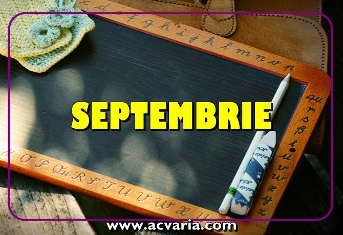 Horoscopul lunii septembrie