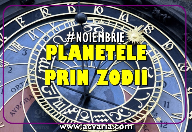 Planetele in zodii noiembrie 2018