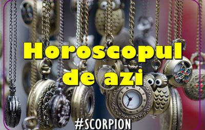 Horoscopul zilei SCORPION * ACVARIA.COM
