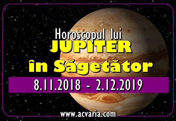 Horoscopul lui JUPITER IN SAGETATOR