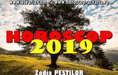 Horoscop 2019 zodia Pestilor