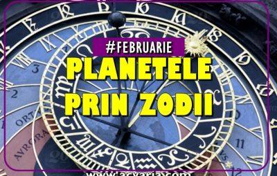 PLANETE IN ZODII in luna februarie