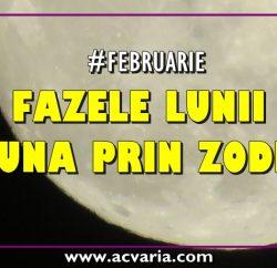 Fazele Lunii in luna februarie 2019