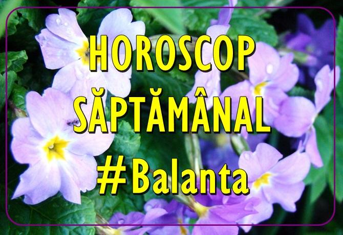 Horoscopul saptamanii BALANTA