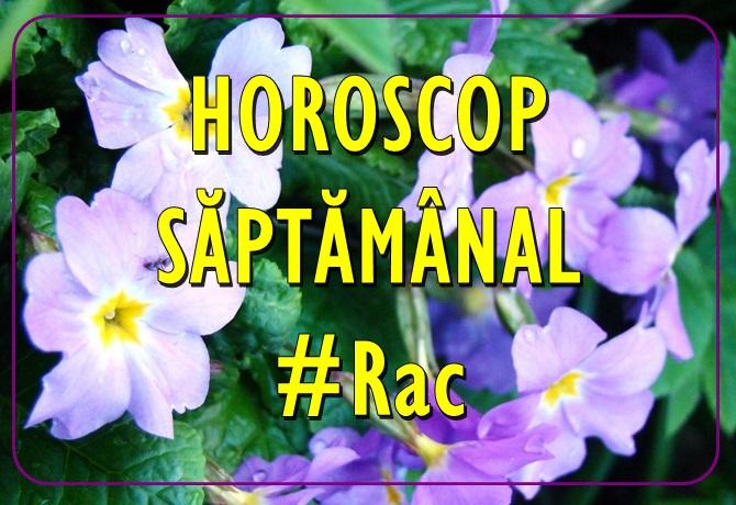 Horoscopul saptamanii RAC