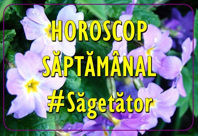 Horoscopul saptamanii SAGETATOR