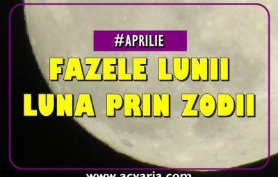 Fazele Lunii in aprilie 2019