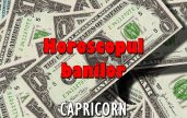 Horoscopul banilor pentru zodia Capricorn