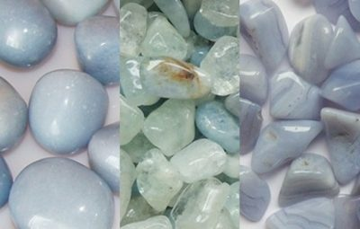 Cristale si pietre semipretioase bleu