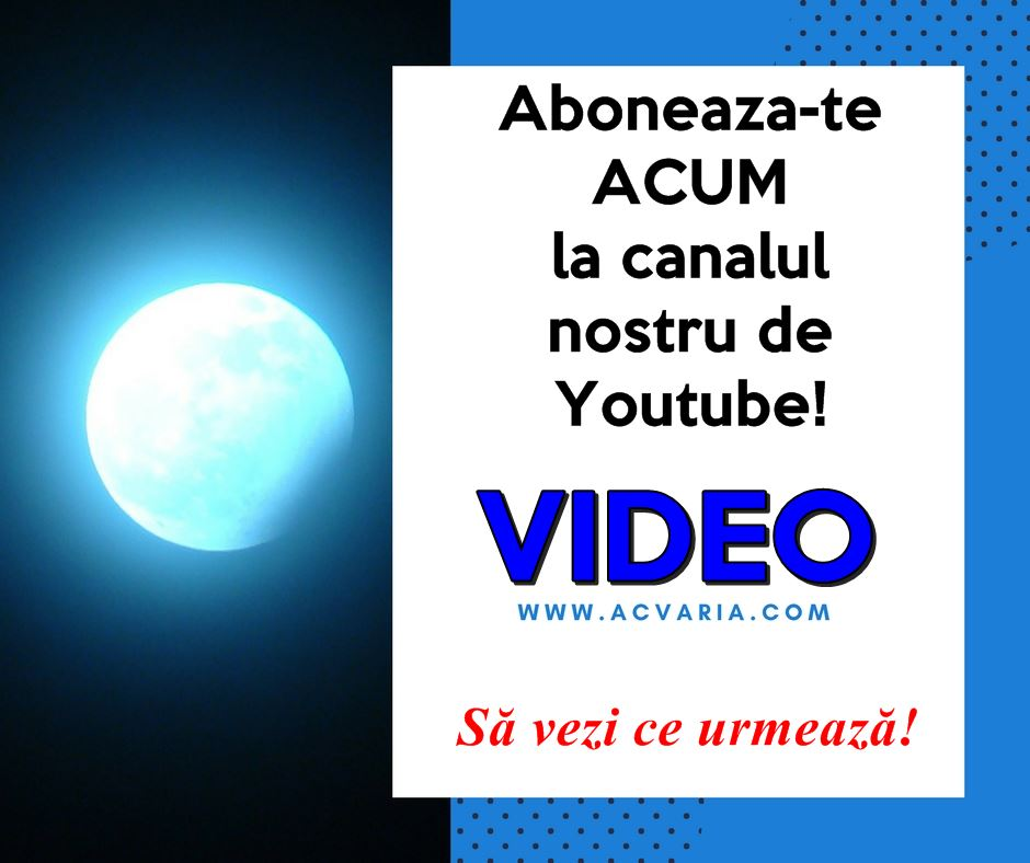 Acvaria pe Youtube