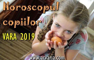 Horoscopul copiilor vara 2019