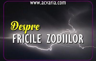 Despre fricile zodiilor