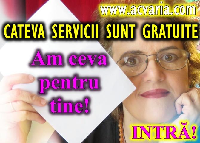 SERVICII ASTROLOGICE GRATUITE