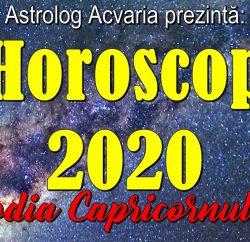 Horoscopul 2020 Capricorn