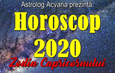 Horoscopul 2020 Capricorn
