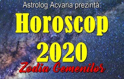 Horoscopul 2020 pentru Gemeni
