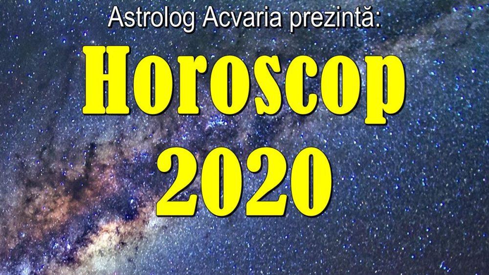 Horoscop 2020 ACVARIA