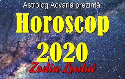 Horoscopul anului 2020 LEU