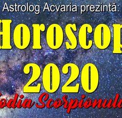 Horoscopul 2020 Scorpion