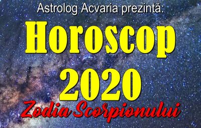 Horoscopul 2020 Scorpion