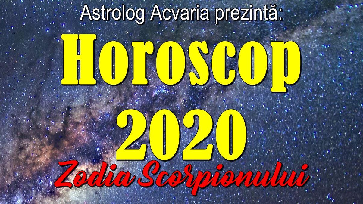 Horoscop 2020 zodia Scorpionului